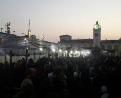 """گزارش تصویری از برپایی """"بیت الاحزان فاطمی"""" توسط ستاد مردمی فاطمیه رشت"""