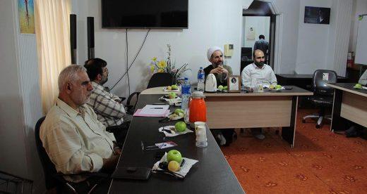 جلسه تبیین دیدگاه ها رهبری با حضور رابطین استانی جبهه فرهنگی انقلاب اسلامی استان گیلان