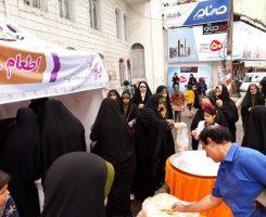 گزارش تصویری از اطعام مردمی در روز عید غدیر خم