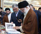 روایتی دیگر از بازدید رهبر انقلاب از نمایشگاه کتاب