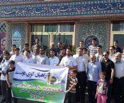۶ رکابزن گیلانی راهی مشهد مقدس شدند + تصاویر