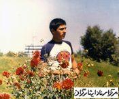 """یادمان """" شهدای دانش آموز استان گیلان """" شهید ابراهیم وظیفه"""