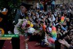 گزارش تصویری از حضور پرشور مردم در مراسم استقبال از خادمین حرم مطهر رضوی در شهرستان رشت